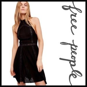 NWT Free People Falling For You Slip Dress